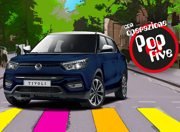 SsangYong Tivoli pop Limited Edition