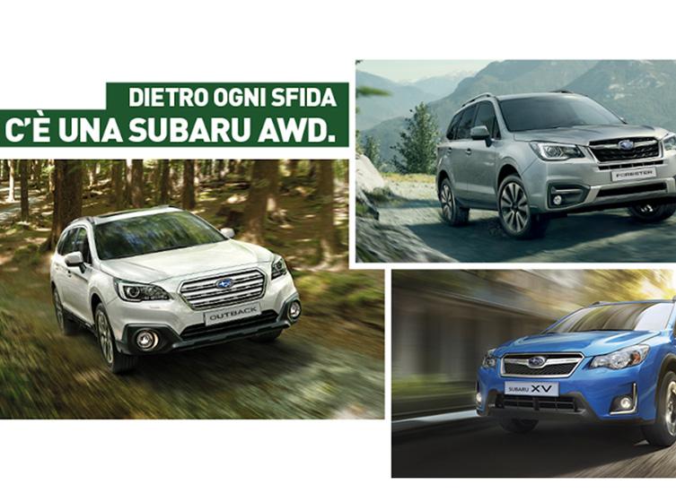 Subaru Awd Promo